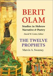 Cover of: The Twelve Prophets | Marvin A. Sweeney