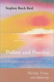 Cover of: Psalms and Practice | Stephen Breck Reid