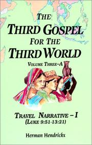 Cover of: The Third Gospel for the Third World