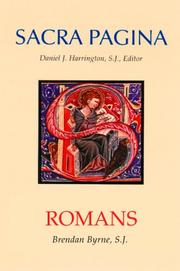 Cover of: Romans (Sacra Pagina)