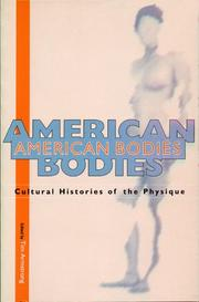 Cover of: American Bodies | Tim Armstrong