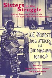 Cover of: Sisters in the struggle