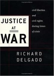 Cover of: Justice at war