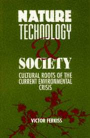 Cover of: Nature, Technology, and Society |