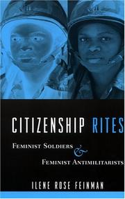 Cover of: Citizenship Rites | Ilene Rose Feinman