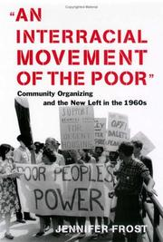 Cover of: An Interracial Movement of the Poor | Jennifer Frost