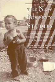Cover of: The New Poverty Studies | Judith Goode
