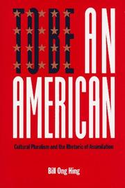 Cover of: To Be an American
