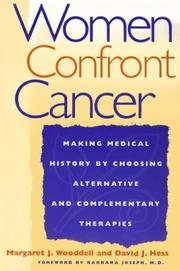 Cover of: Women confront cancer |