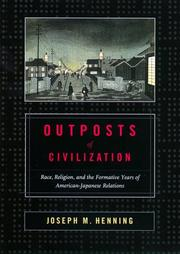 Cover of: Outposts of civilization | Joseph M. Henning