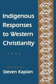 Cover of: Indigenous responses to western Christianity
