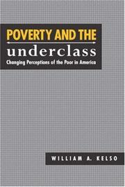 Cover of: Poverty and the underclass