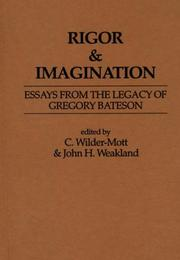 Cover of: Rigor & Imagination