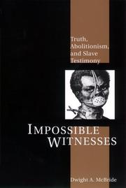 Cover of: Impossible Witnesses | Dwight McBride