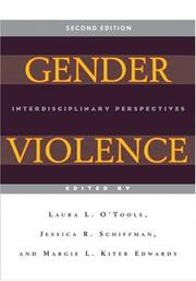 Cover of: Gender Violence |