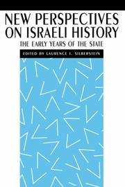 Cover of: New perspectives on Israeli history