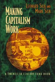 Cover of: Making capitalism work