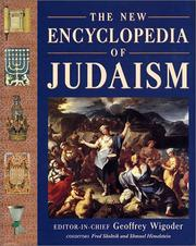 Cover of: The  New Encyclopedia of Judaism | Geoffrey Wigoder
