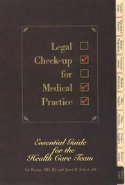 Cover of: Legal check-up for medical practice