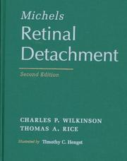 Cover of: Michels Retinal Detachment by Thomas A. Rice, Charles P. Wilkinson