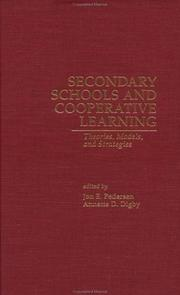 Cover of: Secondary Schools and Cooperative Learning