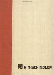 Cover of: The Architectural Drawings of R.M. Schindler | David Gebhard