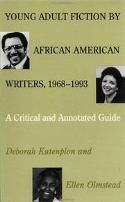Cover of: Young adult fiction by African American writers, 1968-1993 | Deborah Kutenplon