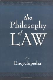 Cover of: The Philosophy of Law | C. Gray