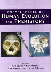 Cover of: Encyclopedia of Human Evolution and Prehistory |