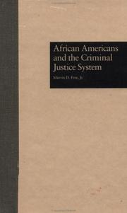 Cover of: African Americans and the criminal justice system