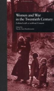 Cover of: Women and war in the twentieth century |