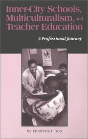 Cover of: Inner-city schools, multiculturalism, and teacher education