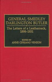 Cover of: General Smedley Darlington Butler