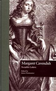 Sociable letters by Newcastle, Margaret Cavendish Duchess of