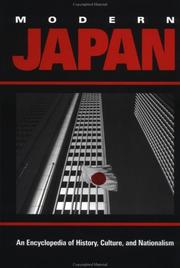 Modern Japan: An Encyclopedia of History, Culture, and Nationalism