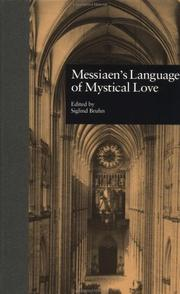Cover of: Messiaen