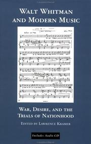 Cover of: Walt Whitman and Modern Music