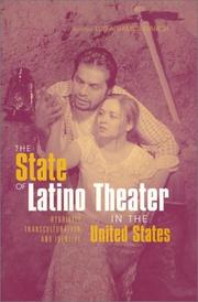 Cover of: The State of Latino Theater in the US (Hispanic Issues (Routledge (Firm)), 29.) | Lu Ramos-Garcia
