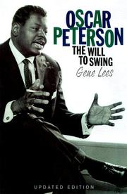 Cover of: Oscar Peterson | Gene Lees