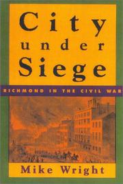 Cover of: City under siege