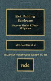 Cover of: Sick Building Syndrome | M.C. Baechler et al