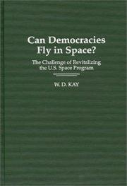 Cover of: Can democracies fly in space?