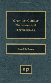 Cover of: Over-the-counter pharmaceutical formulations