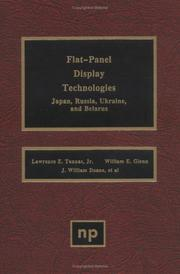 Cover of: Flat-panel display technologies