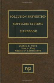 Cover of: Pollution prevention software systems handbook |