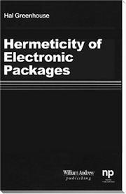 Cover of: Hermeticity of electronic packages