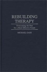 Cover of: Rebuilding therapy