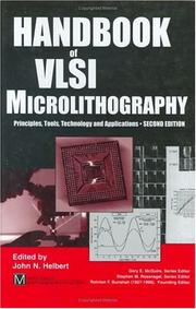Handbook of VLSI Micrelithography