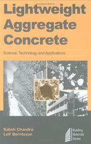 Cover of: Lightweight Aggregate Concrete | Satish Chandra