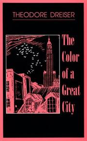 Cover of: The color of a great city